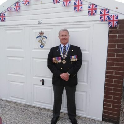 Ve Day Cllr Major Keith Miles 1