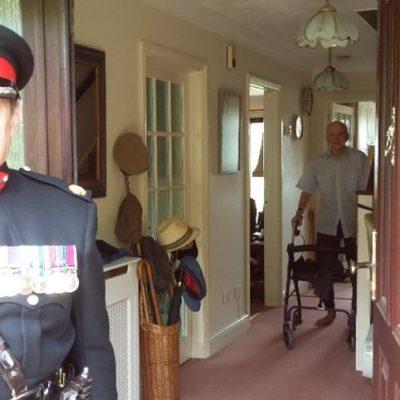 Ve Day Major Denis Bradly