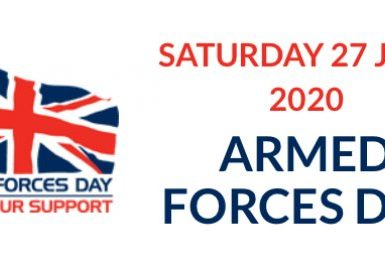 Armed Forces Day 2020 Logo