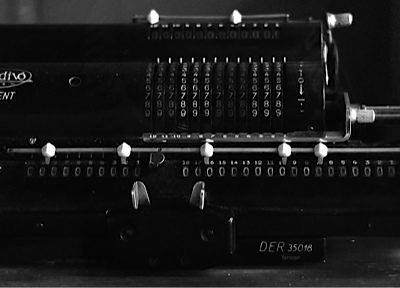 Muldivo Der 35018 Mechanical Pinwheel Calculator