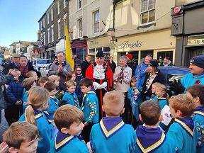 Rembrance Sunday Scouts 2019