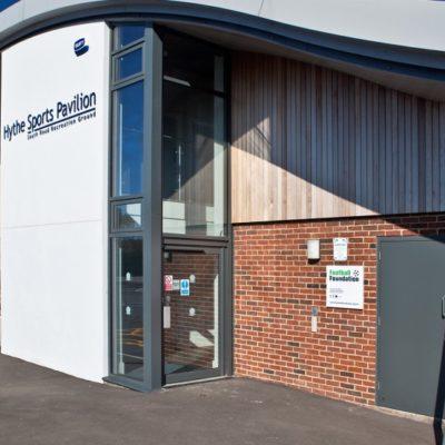 Sports Pavillion Entrance