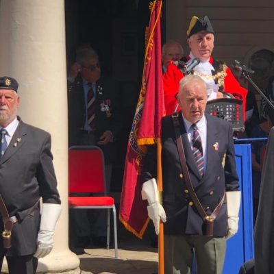 Armed Forces Day 2019 Flag Holders