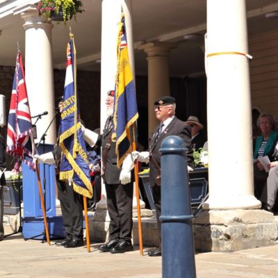 Armed Forces Day 2019 Outside Town Hall