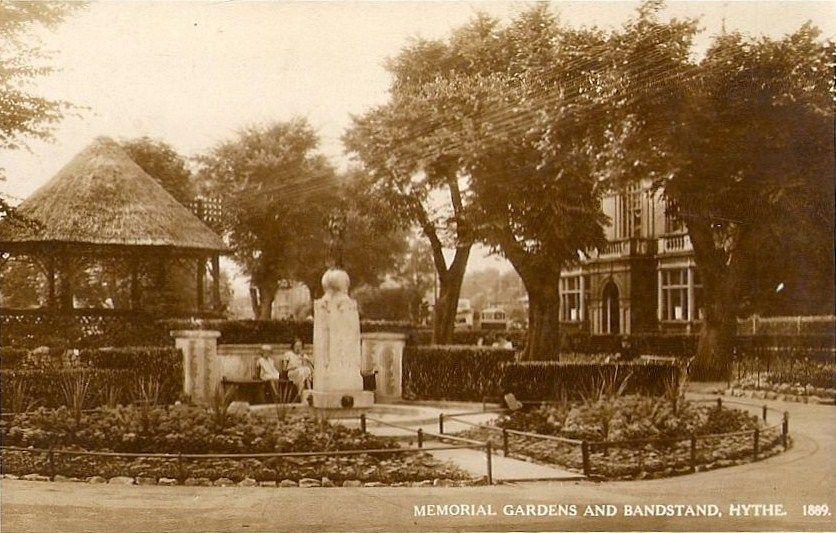 Hythe Bandstand 1889