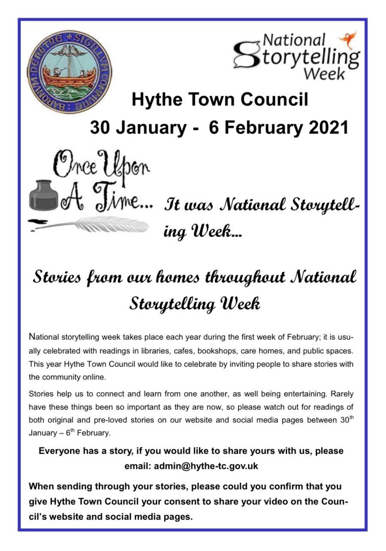 National Storytelling Week Poster 2021 Photo