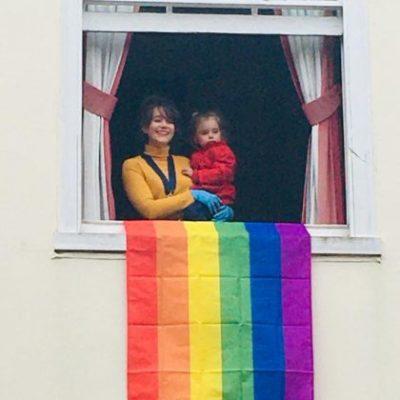 Rainbow Flag Mayor 13.06.20