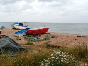 Beach And Fishing Boats 18.06.19