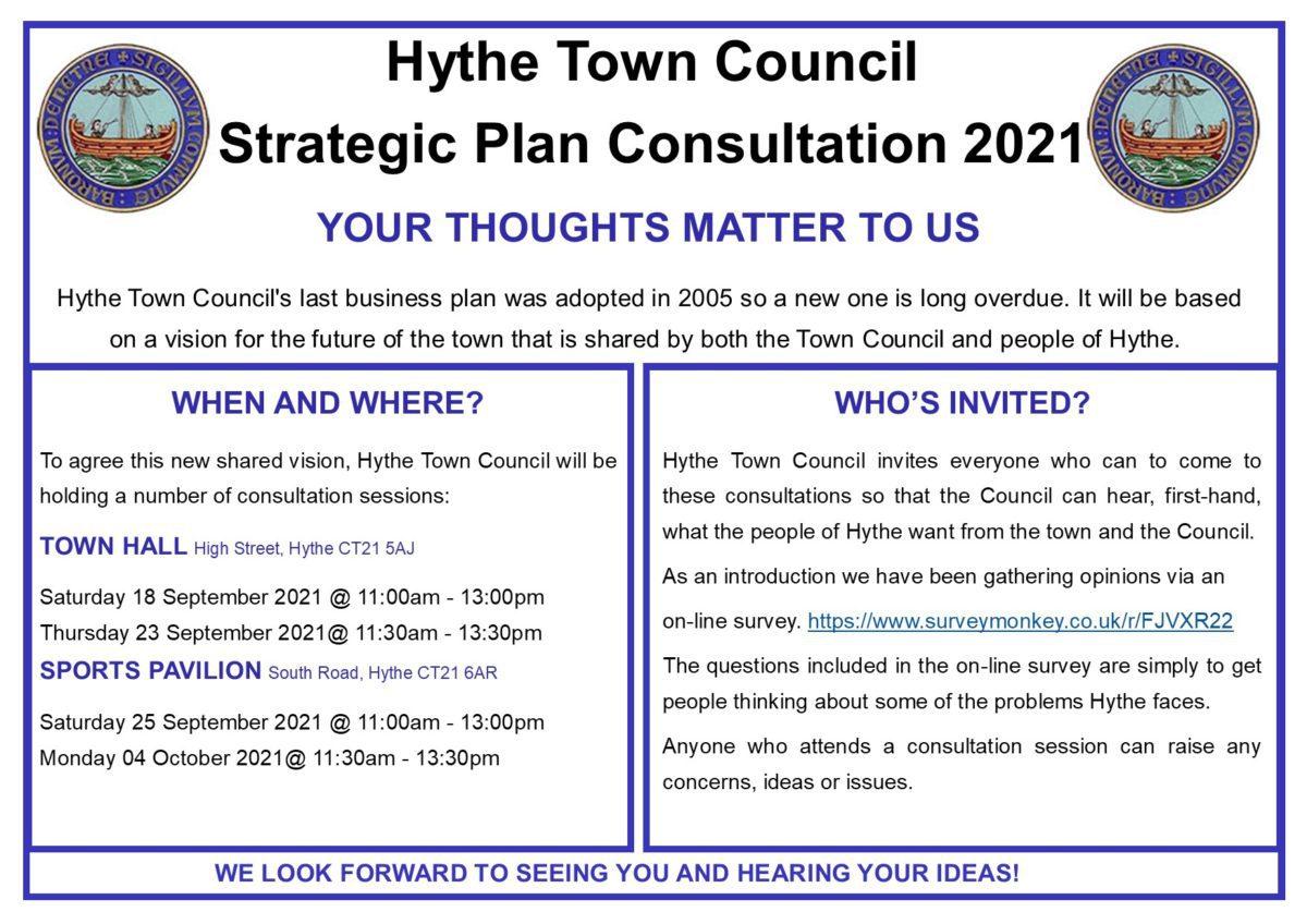 Strategic Plan For Hythe 2021 V2