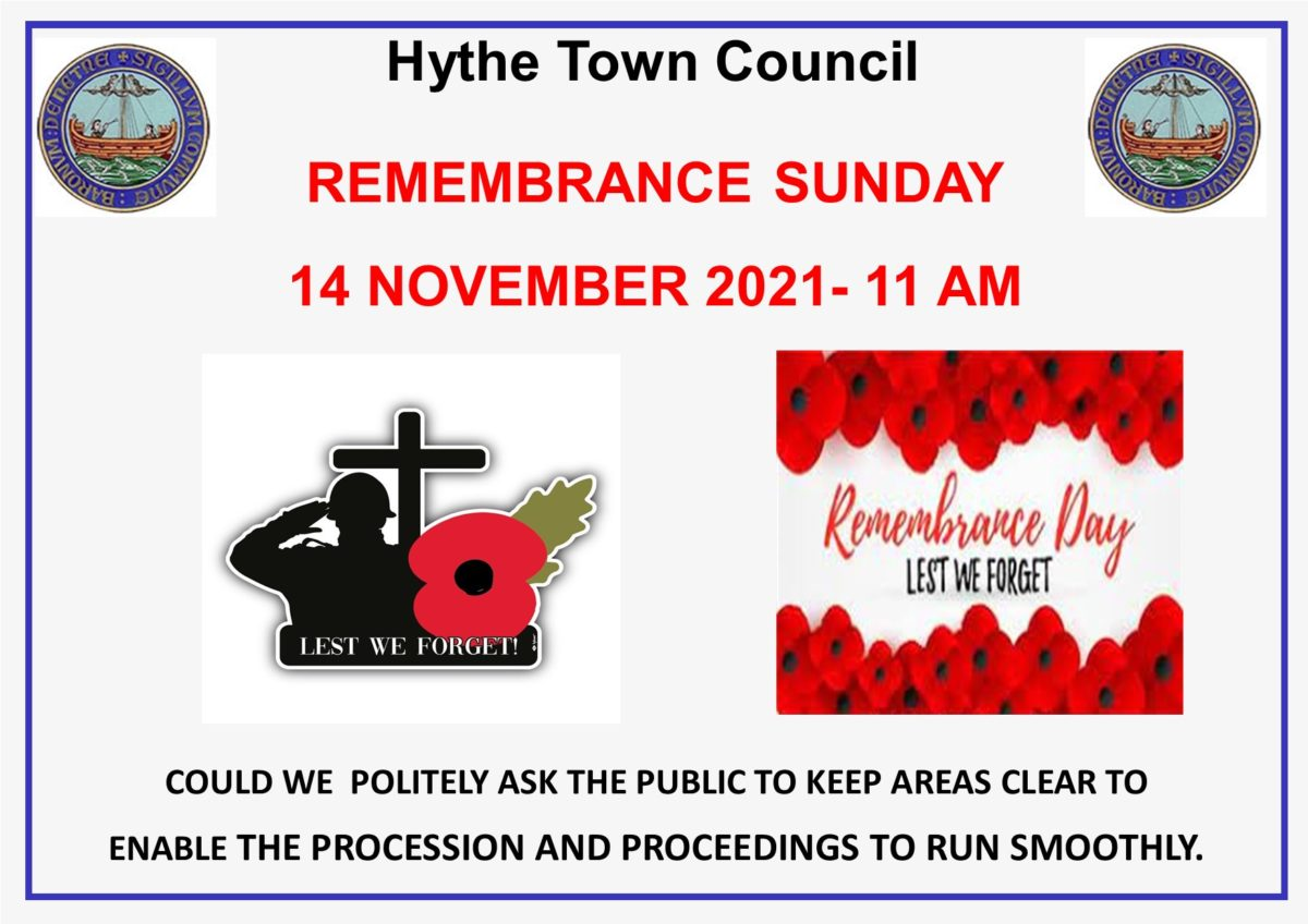 Remembrance Sunday Poster